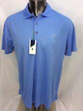 IZOD Mens Polo Shirt XL Short Sleeve Golf Blue Wicking $48 NWT