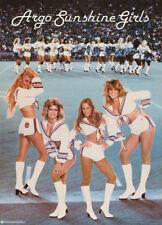 2 POSTERS: CFL: ARGO SUNSHINE GIRLS - 1979 TORONTO CHEERLEADERS  #14-306  RC18 P