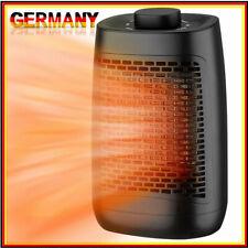 Keramik Heizlüfter Bad Elektroheizung leise Schnellheizer Badheizer Badezimmer