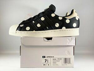 Adidas Originals Superstar Womens Shoes Size 7.5 Polka Dot Off White FZ0154