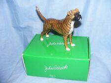 John Beswick Dog Boxer Brindle JBD106 Figurine Present Gift New Boxed