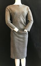 BNWT MAXMARA Weekend Black Galles 3/4 Sleeve Knitted Fitted Dress Sze L RRP £175