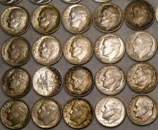 LOT OF 20 ROOSEVELT 90% SILVER DIMES—WHAT U C IS WHAT U GET —100+ NEW LISTINGS