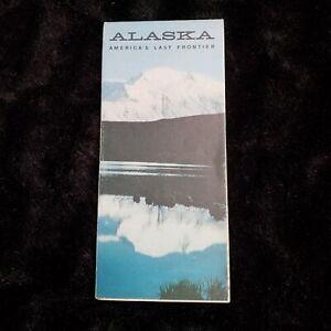 Alaska Department of Highways State Road Map 1964
