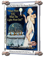 Where were you When The Lights Went Out (DVD) 1968 Doris Day, Robert Morse,