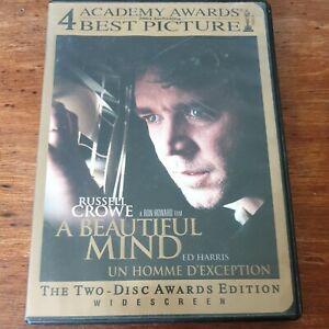 A Beautiful Mind  DVD R1 FREE POST