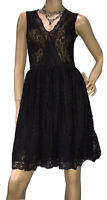 PATRICIA FIELD NEW YORK SIZE:  8, 10 BLACK DRESS FORMAL, EVENTS, COCKTAIL, PARTI
