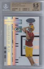 2005 Aaron Rodgers Leaf Certified Mirror White- BGS 9.5 w/quad 9.5 subs- #76/150