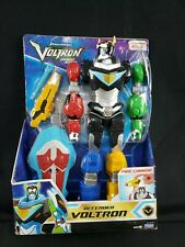 "Voltron Legendary Defender 12.5"" inch Action Figure With Cannon and Lion Shield"