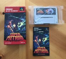 Super Metroid, Authentic Complete in Box, Nintendo Super Famicon, CIB