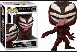 Venom: Let There be Carnage Marvel Funko Pop! Vinyl Figure #889 With Protector