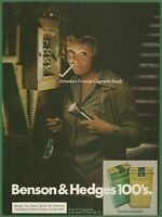 BENSON & HEDGES America's Favorite Cigarette Break - 1974 Vintage Print Ad