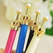 Kawaii Stationery Faux Pearl Crown Princess Ballpoint Pen ~Random~ X1 ✿