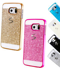 Handy Schutz Hülle Glitzer Strass Tasche Samsung Galaxy S Case Bumper Back Cover
