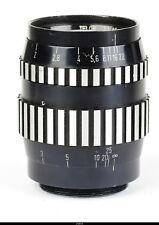 Russian Lens Telor 2/85mm No.0001 For Zenit screw 42 Prototype