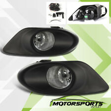 For 2008 2009 2010 Honda Accord 4D Clear Bumper Fog lights Pair w/Switch+Harness