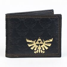Nintendo Zelda All Over Emboss with Gold Foil Bi-Fold Wallet