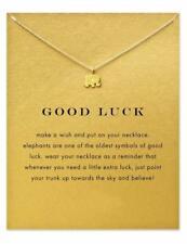 Elephant Necklace, Elephant Pendant Necklace Gold