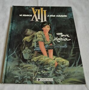 XIII POUR MARIA PAR W VANCE & J VAN HAMME ED DARGAUD 1992 BE
