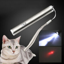 Model - Mini 2 in 1 Red Laser Pointer & White LED Torch - Cat Pet Toy Accessory