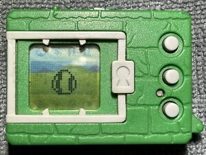 Bandai Digimon 1997 Original Green,Great Condition Still Works And Original