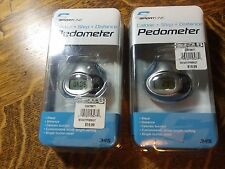 2 Sportline Calorie, Step, Distance Pedometer Fitness Technology Model 345