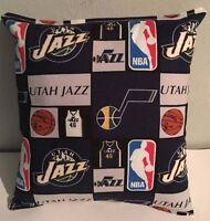 Jazz, Pillow Utah, Jazz, Pillow NBA Handmade in USA Pillow, Basketball, Gift