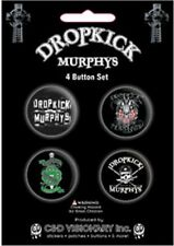 Official DROPKICK MURPHYS - Logos - 4 Button Badge Pack