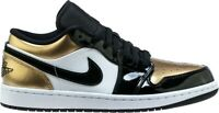 Nike Air Jordan 1 Retro Low Gold Toe size 12 with a receipt Free Shipping