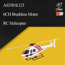 Wltoys XK AS350 K123 6CH 3D 6G System Brushless Motor RC Helicopter/ Transmitter
