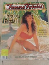 Rivista erotica d'epoca FEMMES FATALES magazine #4 Vol 2-Ed. USA -R. Ferratti