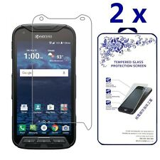 [2x] For Kyocera DuraForce Pro Ballistic Tempered Glass Screen Protector