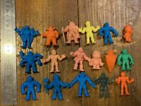 Lot of 17 Vintage M.U.S.C.L.E. Muscle Men kinnikuman 1980s Figures rare