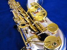 YAMAHA YTS-62 TENOR SAXOPHONE, COMPLETELY RESTORED IN SILVER AND  GOLD!