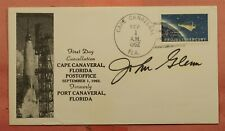 1962 ASTRONAUT JOHN GLENN SIGNED FIRST DAY CANCELLATION CAPE CANAVERAL FL