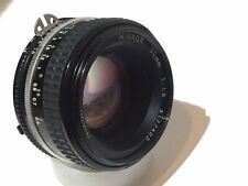 Clean NIKKOR 50mm 1:1 .8 Nikon Ai-s Sharp Focale Fissa per pellicola e reflex digitale