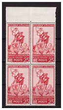 ITALIA 1954 - PINOCCHIO  QUARTINA NUOVA **