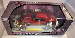 1/24 scale Jada New, Homie Rollerz 87 Buick Grand National with 4 Homies figures