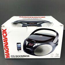 Magnavox Md6924 Cd Portable Aux Boombox Am/Fm Radio Mc2b-E12