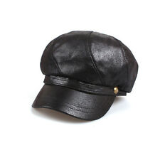 Unisex Mens Gloss Bakerboy Flat Cap Newsboy Adjustable Cabbie Gatsby Driver Hats
