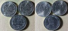 Uruguay : 3 Coins 1989 200NP(2) + 500 NP  All  BU #97#97  IR5848