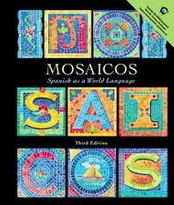 Mosaicos: Spanish as a World Language with CD-ROM (3rd Edition), de Castells, Ma