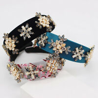 Baroque Ladies Hairband Dolce Embellished Headband Hair Band Accessories Crown