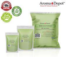 Neem Powder Dried Leaf 100% Pure & Natural Raw  Vegan (Azadirachta indica)