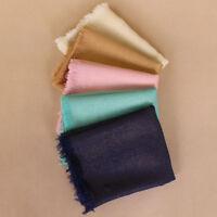Plain Glitter Tassels Lurex Scarves Scarf Muslim Hijab Wraps Headwear Bandana
