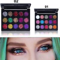 Women Shimmer Glitter Eye Shadow Powder Palette Assorted Eyeshadow Cosmetic