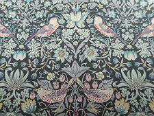 Liberty of London Tana Lawn Fabric 'Strawberry Thief L' 2 METRES x 136cm
