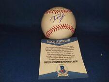 Kris Bryant Autographed Official Major League Baseball - with Beckett COA.