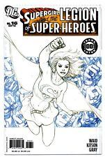 SUPERGIRL AND THE LEGION OF SUPER-HEROES #16(5/06;2nd)SKETCH VARIANT(CGC IT)9.8!