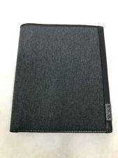 """TUMI Men Alpha Travel Passport Case Anthracite 5""""x5.75"""" 0119271AT TM-074"""